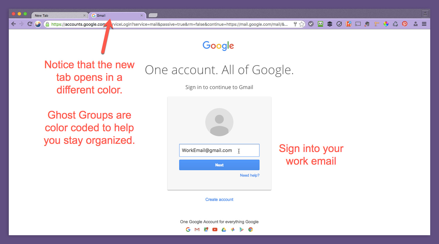 How to Use Ghost Browser to Simplify Multiple GMail Accounts