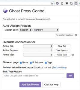 Ghost Proxy Control