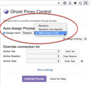 Auto-Assign Proxy Behavior