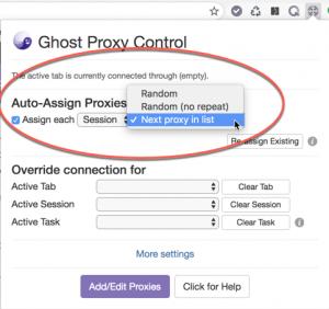 Auto-Assign Proxy Behavior