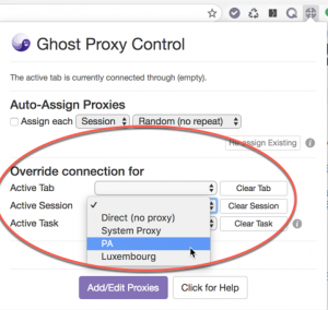 How to Set Up A Different Proxy for Each Tab - Ghost Browser