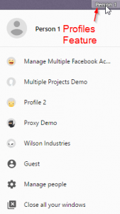 Multiple Profiles
